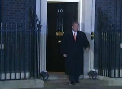 News video: New Jersey Governor Meets UK's Cameron